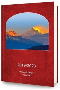Mano viršūnės ir darbai. Darbo knyga 2019/2020 |