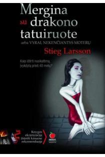 Mergina su drakono tatuiruote | Stieg Larsson