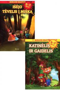 KOMPLEKTAS. Mokausi skaityti: Išėjo tėvelis į mišką + Katinėlis ir gaidelis (5-7 metai) |