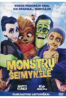 Monstrų šeimynėlė (DVD) |