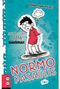 Normo pasaulis: atsargiai, dūžta! Kiaušiniai! (1-oji knyga) | Jonathan Meres