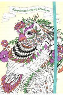 Paukštis. Nuspalvink knygelę užrašams |