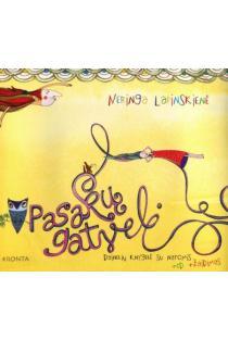 Pasakų gatvelė (su CD) | Neringa Lapinskienė