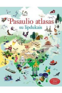 Pasaulio atlasas su lipdukais | Sam Lake