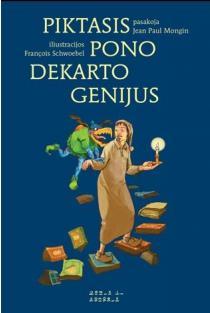 """Piktasis pono Dekarto Genijus (serija """"Mažieji Platonai"""")   Jean-Paul Mongin"""