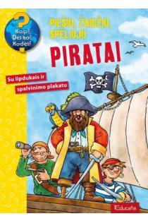 Piratai. Su lipdukais ir spalvinimo plakatu |