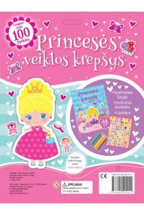 Princesės veiklos krepšys |