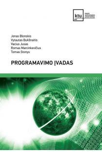 Programavimo įvadas | Jonas Blonskis, Vytautas Bukšnaitis, Vacius Jusas