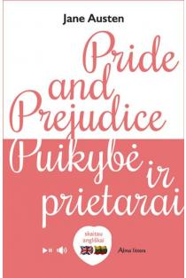 Pride and prejudice. Puikybė ir prietarai. Skaitau angliškai   Jane Austen