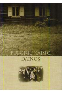 Puponių kaimo dainos (su CD) | Sud. Varsa Liutkutė-Zakarienė, Jonė Žebrytė