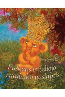 Puškutis ir žaliojo rutuliuko paslaptis (knyga) | Paulius Juodišius
