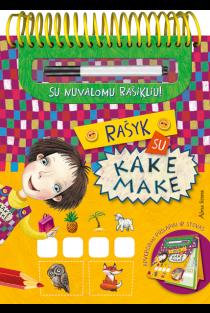 Rašyk su Kake Make (su nuvalomu rašikliu) |