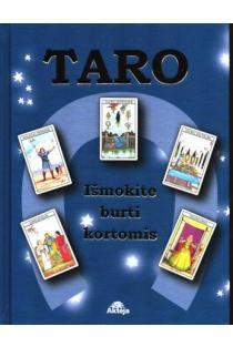 Taro. Išmokite burti kortomis (su 78 kortų malka) (mėlyna) |