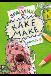 Spalvink su Kake Make. Monstrai |