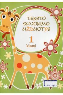 Teksto suvokimo užduotys, 1 klasei | Vytautas Šalavėjus