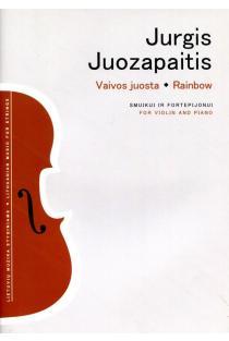 Vaivos juosta. Smuikui ir fortepijonui | Jurgis Juozapaitis