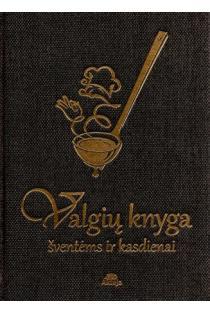 Valgių knyga. Šventėms ir kasdienai (viršelis su samčiu) |