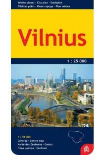 Vilnius. Miesto planas |