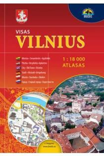 Atlasas. Visas Vilnius 1:18000D-083H |