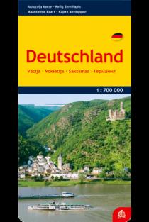 Vokietija. Kelių žemėlapis |