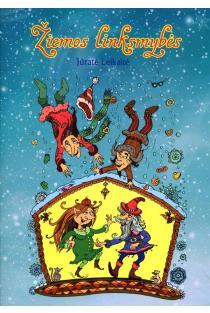 Žiemos linksmybės. Spalvinimo knyga | Jūratė Leikaitė