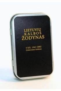 Lietuvių kalbos žodynas I–XX, 1941–2002 Elektroninis leidimas (USB) |