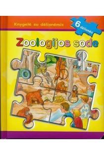 Knygelė su dėlionėmis. Zoologijos sode |