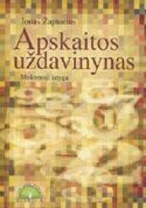 Apskaitos uždavinynas. Mokomoji knyga | Jonas Žaptorius