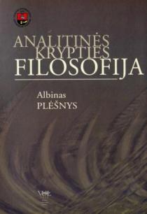 Analitinės krypties filosofija   Albinas Plėšnys
