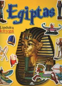 Lipdukų knyga. Egiptas |