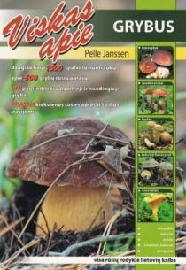 Viskas apie grybus   Pelle Jansen