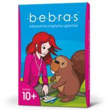 Žaidimo kortelės BEBRAS 10+ informatinio mąstymo ugdymui  