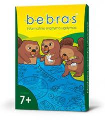 Žaidimo kortelės BEBRAS 7+ informatinio mąstymo ugdymui  
