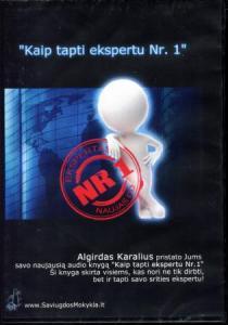 Kaip tapti ekspertu Nr. 1 (Audioknyga, mp3) | Algirdas Karalius