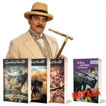 KOMPLEKTAS. Agatos Kristi DETEKTYVŲ komplektas (3 romanai) + DOVANA | Agatha Christie