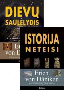 KOMPLEKTAS. Dievų saulėlydis + Istorija neteisi   Erich von Daniken
