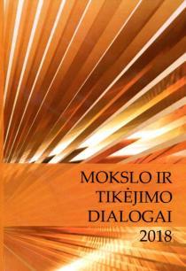 Mokslo ir tikėjimo dialogai 2018 |