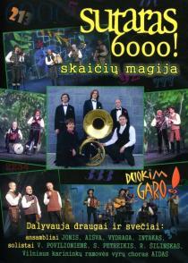 Sutaras 6000! Skaičių magija (DVD)  