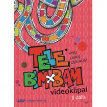 Visu laiku geriausi Tele Bim-Bam videoklipai 2 (DVD)  
