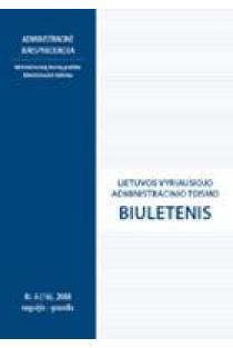 Lietuvos vyriausiojo administracinio teismo biuletenis Nr. 6 (16) |