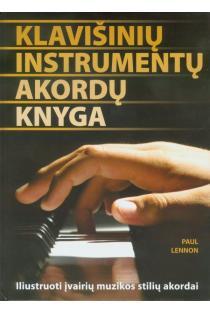 Klavišinių instrumentų akordų knyga | Paul Lennon
