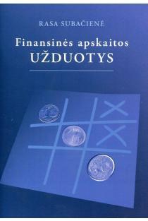 Finansinės apskaitos užduotys | Rasa Subačienė