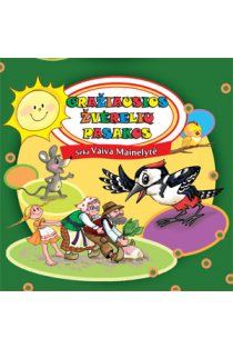 Gražiausios žverelių pasakos. Seka Vaiva Mainelytė (CD) |