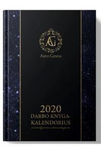 2020 darbo knyga-kalendorius su astrologinėmis prognozėmis | Astro Ganesa