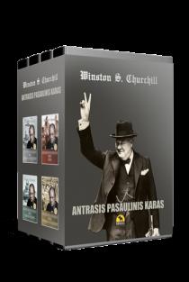 Antrasis pasaulinis karas. 4 tomų kolekcinis rinkinys | Winston S. Churchill