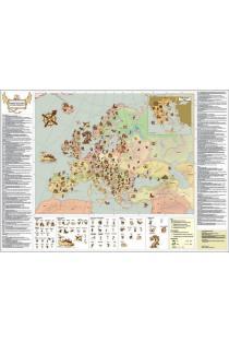 Europos mitinių būtybių žemėlapis |