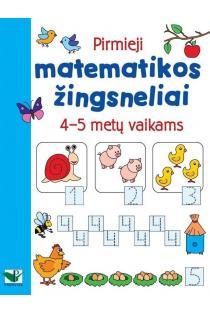 Pirmieji matematikos žingsneliai 4-5 metų vaikams |
