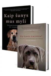 KOMPLEKTAS. Geriausias žmogaus draugas - ŠUO. Ką šunys galvoja + Kaip šunys mus myli | Alexandra Horowitz, Gregory Berns