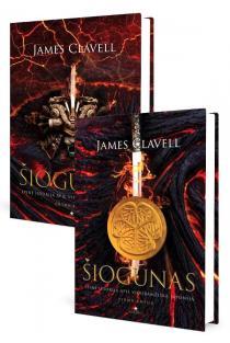 KOMPLEKTAS. Šiogūnas. Pirma knyga + Šiogūnas. Antra knyga | James Clavell