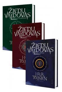 KOMPLEKTAS. Trilogija ŽIEDŲ VALDOVAS (1, 2 ir 3 dalys) | J. R. R. Tolkien